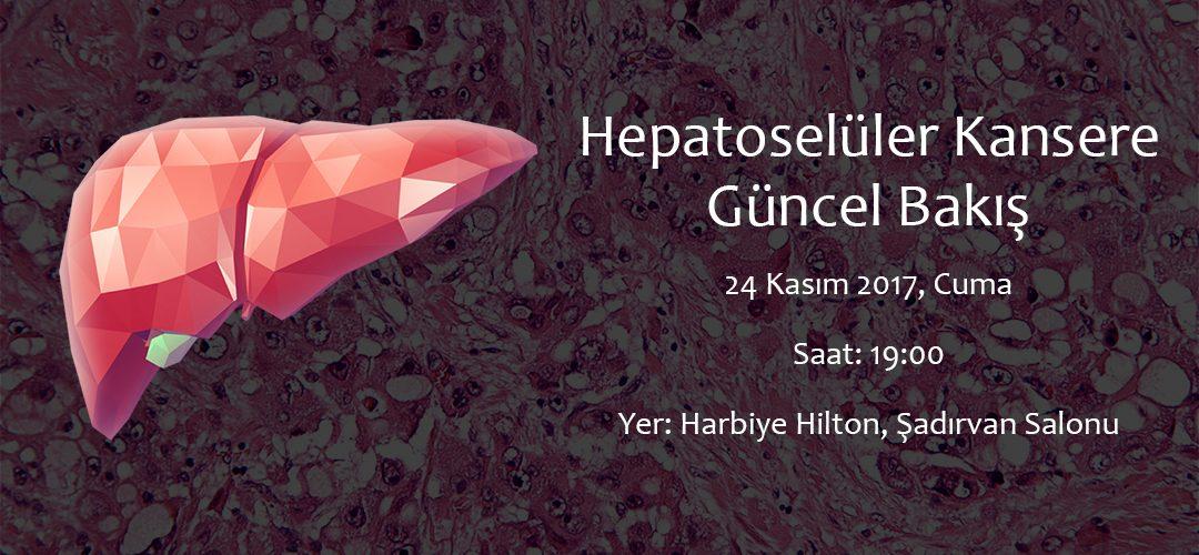 Holistik Tıp – Hepatoselüler Kansere Güncel Bakış, 24 Kasım 2017, Harbiye, İstanbul