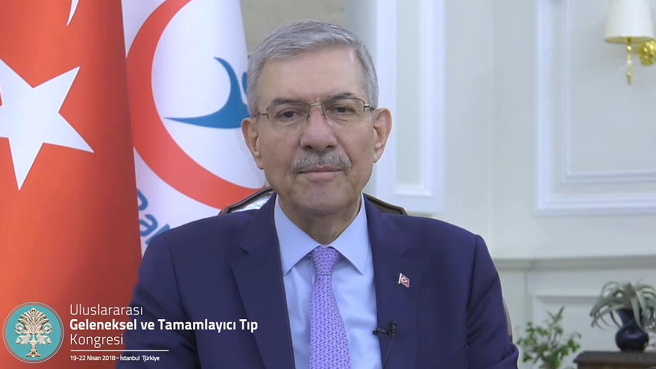 GETAT 2018 – Sağlık Bakanımız – 1. Uluslararası Geleneksel ve Tamamlayıcı Tıp Kongresi: GETAT Kongresi, Nisan 2018, İstanbul