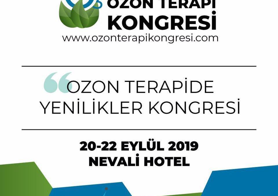 OZONTERAPİ 2019 – Uluslararası Katılımlı Ozon Terapi Kongresi, 20-22 Eylül 2019, Şanlıurfa