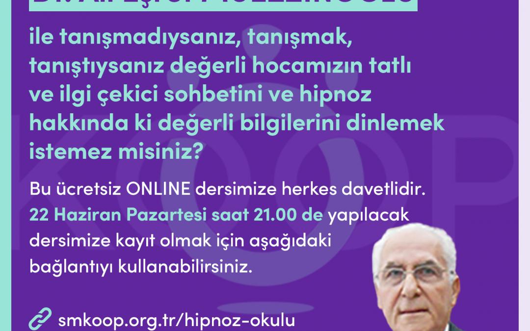GETAT, HİPNOZ, Hipnoz Okulu, Webinar, 22 Haziran 2020, Pazartesi