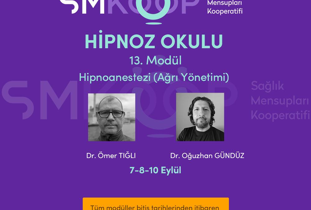 HİPNOZ OKULU – YAZ OKULU 2020, 13. MODÜL: HİPNOANESTEZİ (Ağrı Yönetimi), 07-10 Eylül 2020 | Ankara, Türkiye