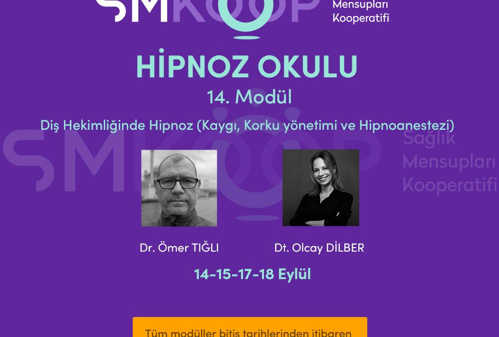HİPNOZ OKULU – YAZ OKULU 2020, 14. MODÜL: DİŞ HEKİMLİĞİNDE HİPNOZ (Kaygı, Korku yönetimi ve Hipnoanestezi), 14-18 Eylül 2020 | Ankara, Türkiye