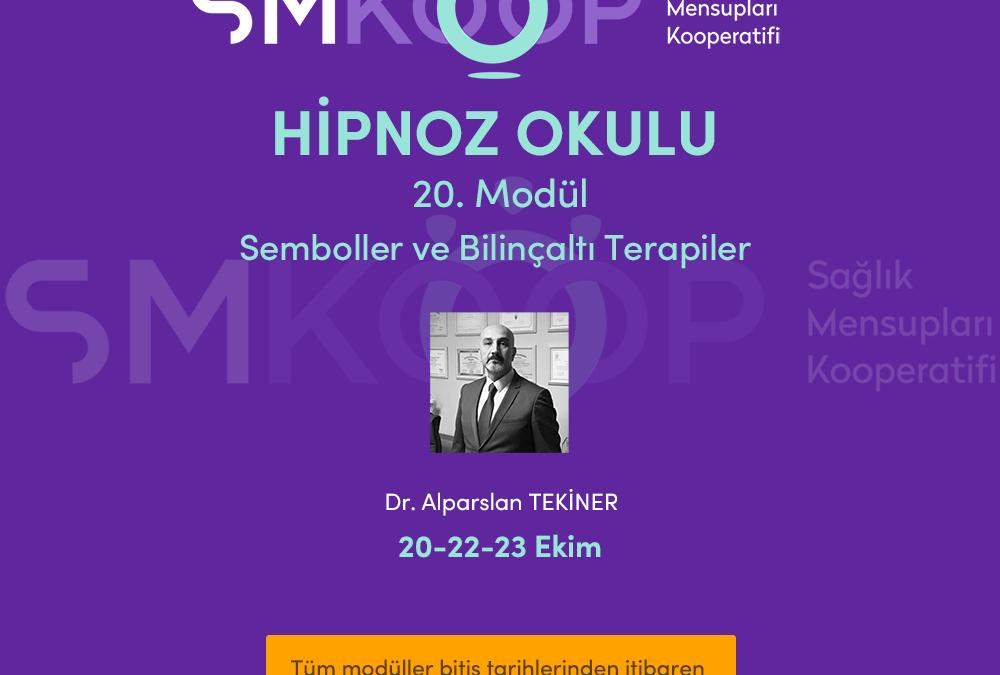HİPNOZ OKULU – YAZ OKULU 2020, 20. MODÜL: SEMBOLLER ve BİLİNÇALTI TERAPİLER, 20-23 Ekim 2020 | Ankara, Türkiye