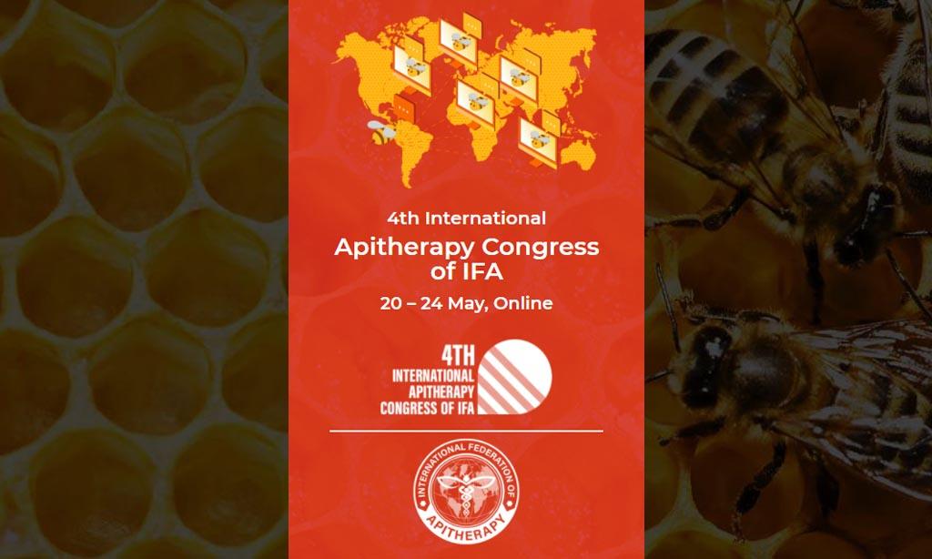 4. Uluslararası IFA Apiterapi Kongresi, IFA, 20-24 Mayıs 2021, Çevrimiçi