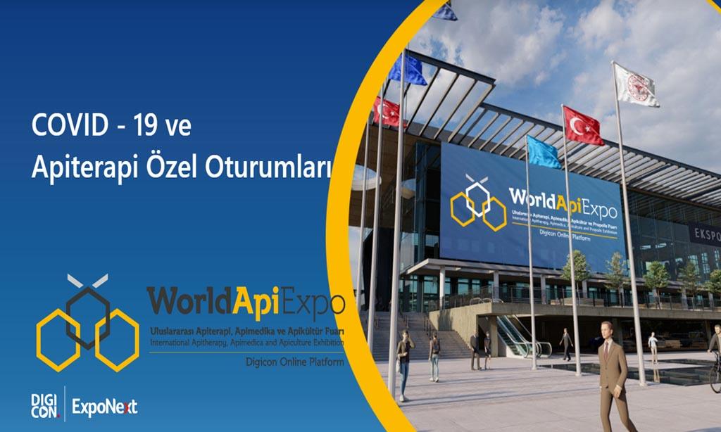 WorldApiExpo 2021 – Uluslararası Apiterapi, Apimedika ve Apikültür Fuarı, 20-29 Mayıs 2021, Çevrimiçi