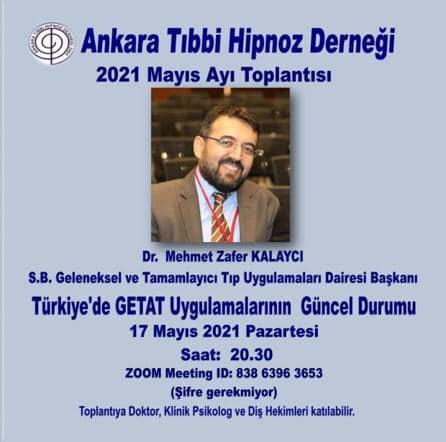 Webinar – Türkiye'de GETAT Uygulamalarının Güncel Durumu, 17 Mayıs 2021, Pazartesi